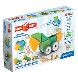 Geomag™ Magicube™ 13-Piece Magnetic Building Block Set in Yellow/Green