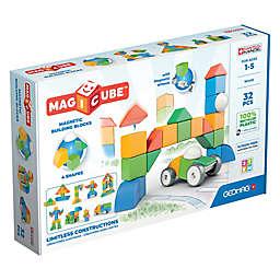 Geomag™ Magicube™ 32-Piece Magnetic Building Block Set in Blue/Multi