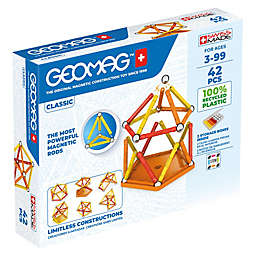 Geomag™ Classic 42-Piece Magnetic Construction Set in Red/Multi