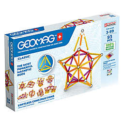 Geomag™ Classic 93-Piece Magnetic Construction Set in Red/Multi