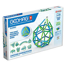 Geomag™ Classic 142-Piece Magnetic Construction Set in Blue/Green