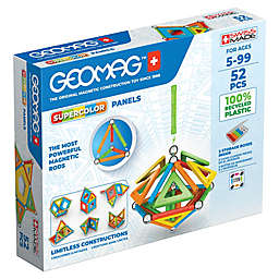 Geomag™ Supercolor 52-Piece Magnetic Construction Set in Blue/Multi