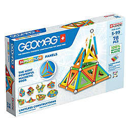 Geomag™ Supercolor 78-Piece Magnetic Construction Set in Blue/Multi