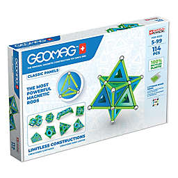 Geomag™ Classic Panels 52-Piece Magnetic Kit in Blue/Green