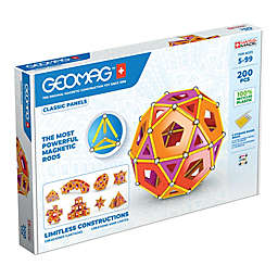 Geomag™ Classic Panels 78-Piece Magnetic Kit in Red/Multi