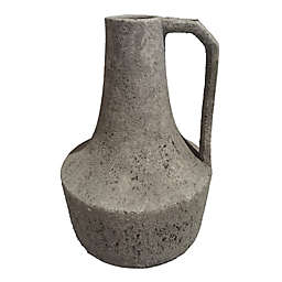 Bee & Willow™ 12-Inch Handcrafted Stoneware Vase in Grey