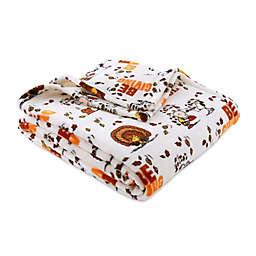 Peanuts™ Be Thankful Throw Blanket in Brown