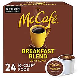 McCafe® Breakfast Blend Coffee Keurig® K-Cup® Pods 24-Count