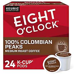 Eight O' Clock® 100% Colombian Peaks Coffee Keurig® K-Cup® Pods 24-Count
