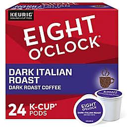 Eight O' Clock® Dark Italian Roast Coffee Keurig® K-Cup® Pods 24-Count