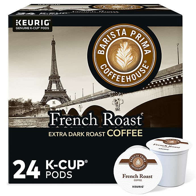 Alternate image 1 for Barista Prima Coffeehouse® French Roast Coffee Keurig® K-Cup® Pods 24-Count