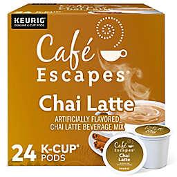 Cafe Escapes® Chai Latte Keurig® K-Cup® Pods 24-Count