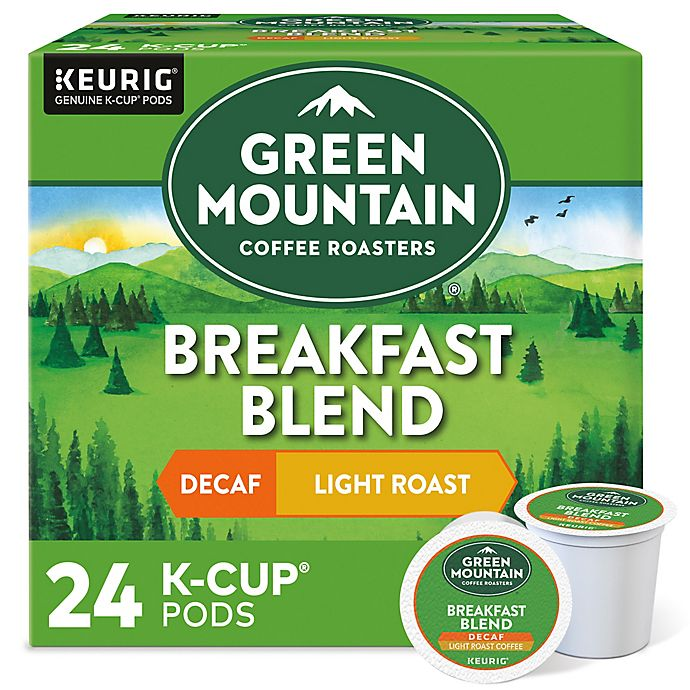 Alternate image 1 for Green Mountain Coffee® Breakfast Blend Decaf Keurig® K-Cup® Pods 24-Count