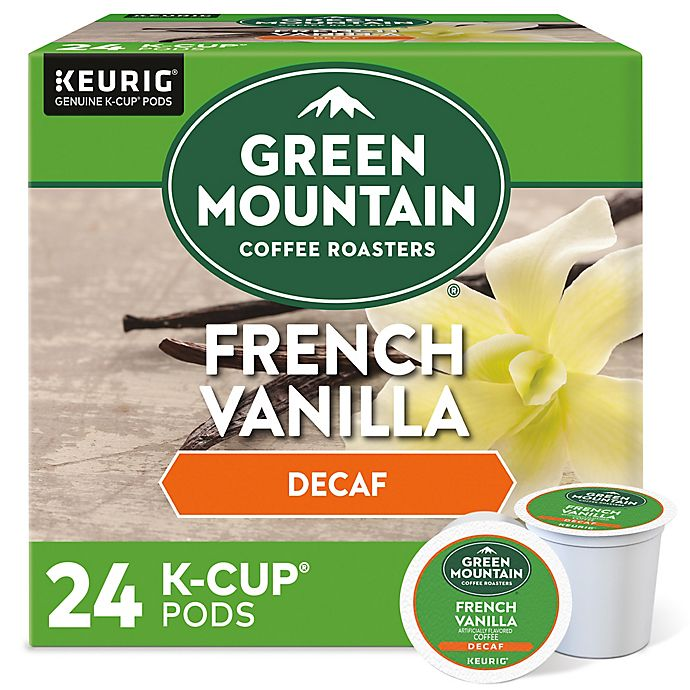 Alternate image 1 for Green Mountain Coffee® French Vanilla Decaf Coffee Keurig® K-Cup® Pods 24-Count