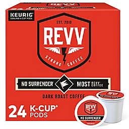 REVV® No Surrender™ Coffee Keurig® K-Cup® Pods 24-Count