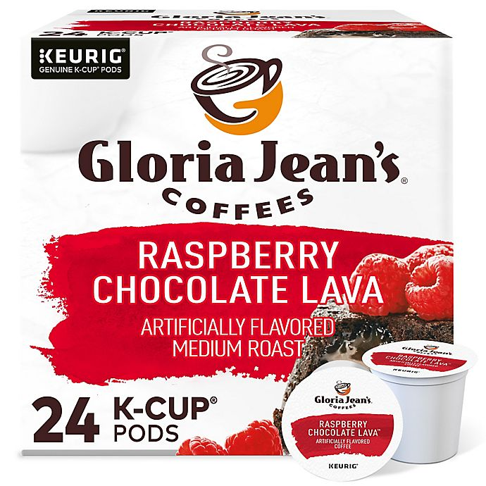 Alternate image 1 for Gloria Jean's® Raspberry Chocolate Coffee Keurig® K-Cup® Pods 24-Count