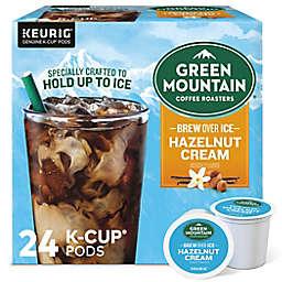 Green Mountain Coffee® Brew Over Ice Hazelnut Cream Keurig® K-Cup® Pods 24-Count