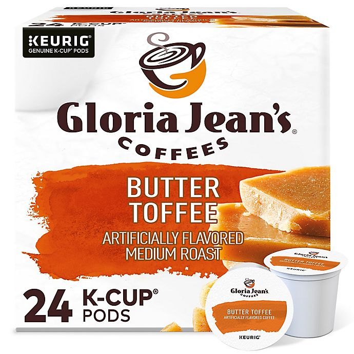 Alternate image 1 for Gloria Jean's® Butter Toffee Coffee Keurig® K-Cup® Pods 24-Count
