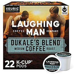 Laughing Man® Dukale's Blend Coffee Keurig® K-Cup® Pods 22-Count