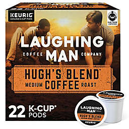 Laughing Man® Hugh's Blend Coffee Keurig® K-Cup® Pods 22-Count