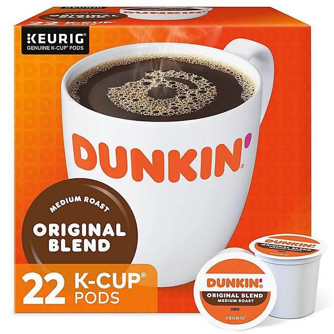 Alternate image 1 for Dunkin' Donuts® Original Blend Coffee Keurig® K-Cup® Pods 22-Count
