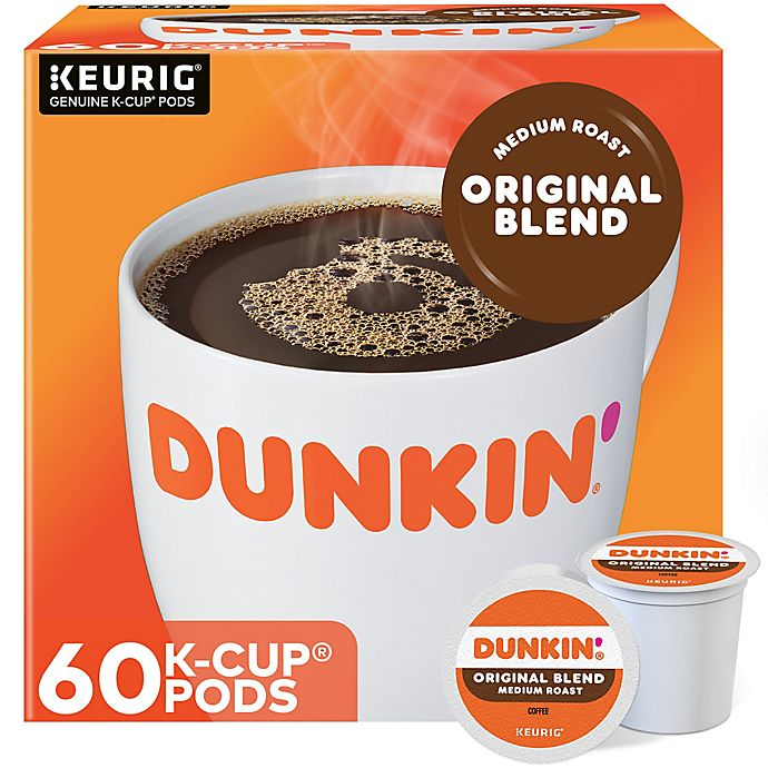 Alternate image 1 for Dunkin' Donuts® Original Coffee Keurig® K-Cup® Pods 60-Count