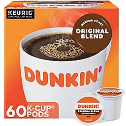 Dunkin' Donuts® Original Coffee Keurig® K-Cup® Pods 60-Count