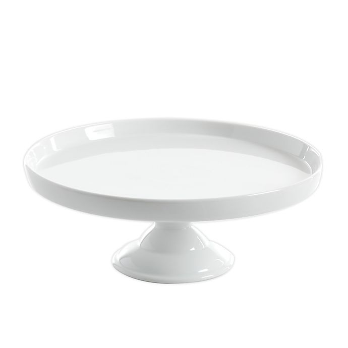 Alternate image 1 for Our Table™ Simply White Cake Stand