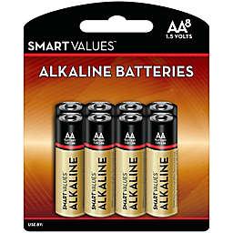 Smart Values™ 8-Pack AA Alkaline Batteries
