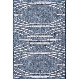 KAS Provo Contempo 3'3 x 4'11 Accent Rug in Blue
