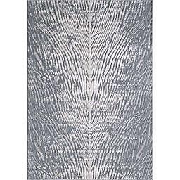 KAS Luna Birch 6'7 x 9'6 Area Rug in Grey
