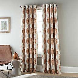 Stratford Park Minna 84-Inch Grommet Blackout Window Curtain Panel in Rust (Single)