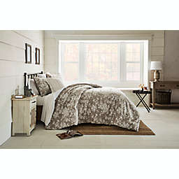 Bee & Willow™ Floral Jacquard 3-Piece Duvet Cover Set
