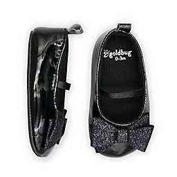 goldbug™ Size 6-9M Glitter Bow Mary Jane Dress Shoe in Silver