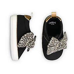 goldbug™ Leopard Print Bow Low-Top Sneaker in Black