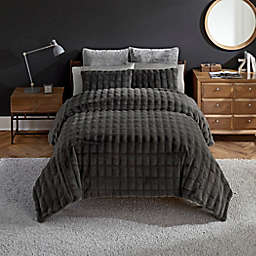 UGG® Belle 3-Piece King Comforter Set in Charcoal
