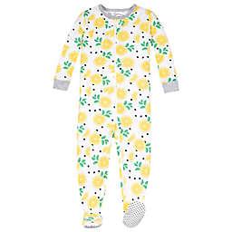 Lamaze® Size 4T Dandelion Super Combed Cotton Footie Pajama in Yellow