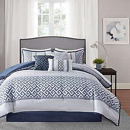 Madison Park® Bennett Jacquard Comforter Set