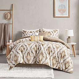 Madison Park Harding Cotton 7-Piece California King Comforter Set in Neutral