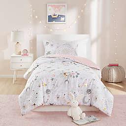 Mi Zone Kids 3-Piece Reversible Celia Printed Twin Comforter Set in Blush/Gold