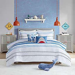 Urban Habitat Haisley 4-Piece Twin Comforter Set in Blue