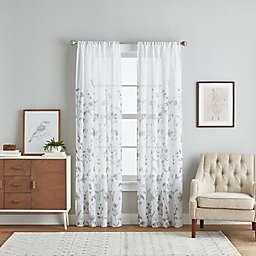 Pandora 84-Inch Sheer Window Curtain Panels (Set of 2)