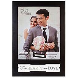 Malden® Wedding Flip It 8-Inch x 10-Inch Photo Frame in Black