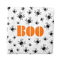 "Gartner Studios® 40-Count ""Boo"" Spiders Paper Cocktail Napkins"