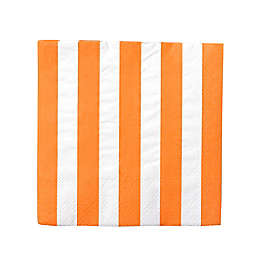 Gartner Studios® 40-Count Orange Stripe Paper Cocktail Napkins