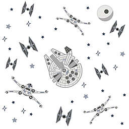 Lambs & Ivy® 41-Piece Star Wars Squadron Wall Decal Set in Grey
