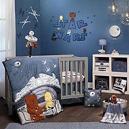 Lambs & Ivy® Star Wars™ Millennium Falcon 3-Piece Crib Bedding Set in Blue