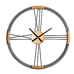 Glitzhome® Oversized Modern Metal Wall Clock