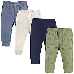 Touched by Nature® 4-Pack Dino Organic Cotton Pants in Green