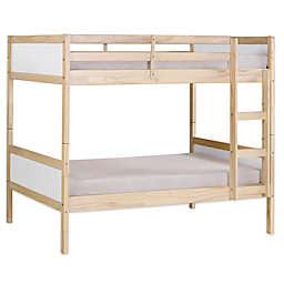 Alaterre MOD Twin Over Twin Bunk Bed in White